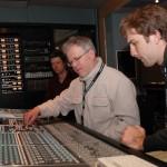 Doug with Feist Engineer Robbie Lackritz, Juno Awards, Calgary, 2008