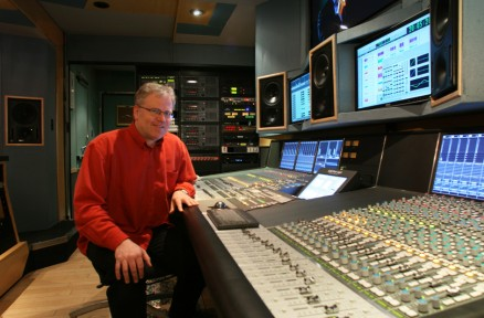Doug at the SSL C200 Digital Console