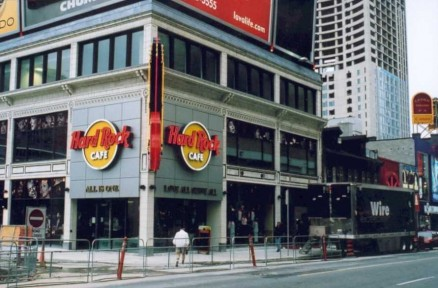Hard Rock Cafe, Toronto - Tragically Hip, 2002