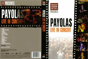 The Payolas - Live In Concert - recorded at The Concert Hall, Toronto