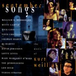 September Songs -  The Music of Kurt Weill - performed by Mary Margaret O'Hara and Betty Carter - recorded at Wallace Avenue Film Studios, Toronto